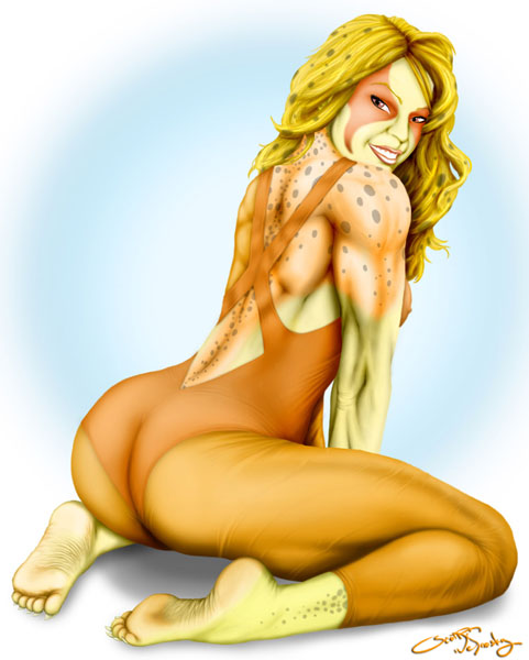 Cheetara Pin-Up1